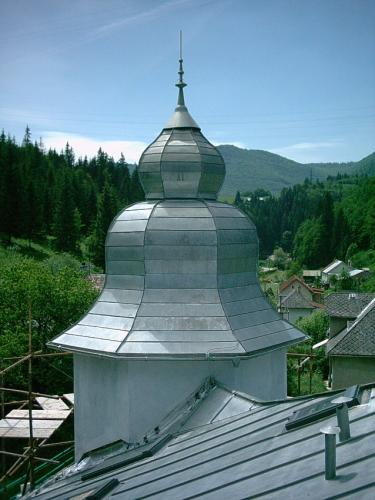 titanzinková strecha - Podbrezová