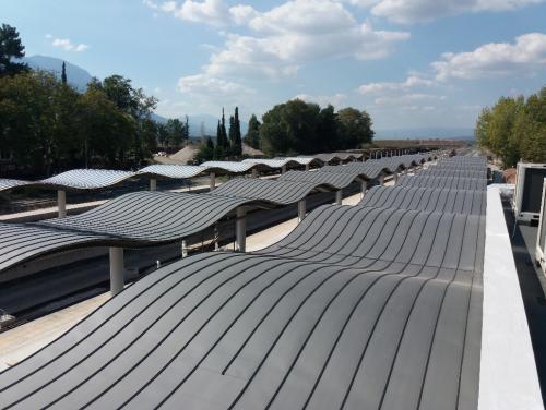 titánzinková strecha - Grécko