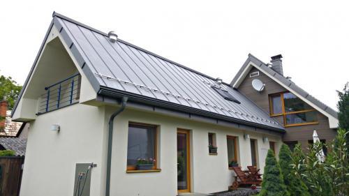 titánzinková strecha - RD Bojnice