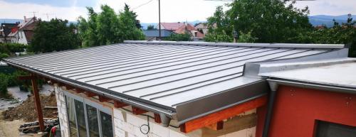 titánzinková strecha - RD Nitra