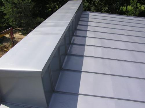 strecha z titánzinku