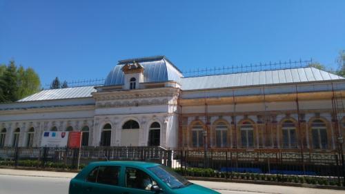 titánzinková strecha - múzeum Rožňava