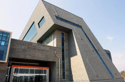 strecha a fasáda z titánzinku - Južná Korea